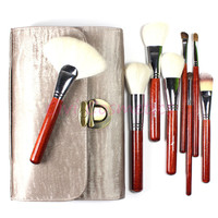 Most Gorgeous Professional Makeup Brushes Tool Kit 26 Pieces Goat Hair Top Grade Cosmetics Set