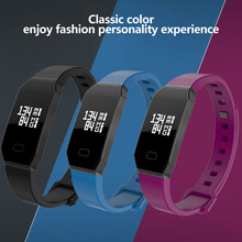 Haoba smart Сердечного ритма браслет Приборы для измерения артериального давления Мониторы смарт-браслет вызова/SMS напоминание трекер активности для здоровья Фитнес
