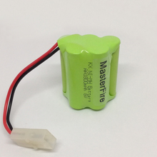 5pack/lot Brand New 6V AA 1800mAh Ni-MH Battery Rechargeable Batteries Pack Free Shipping
