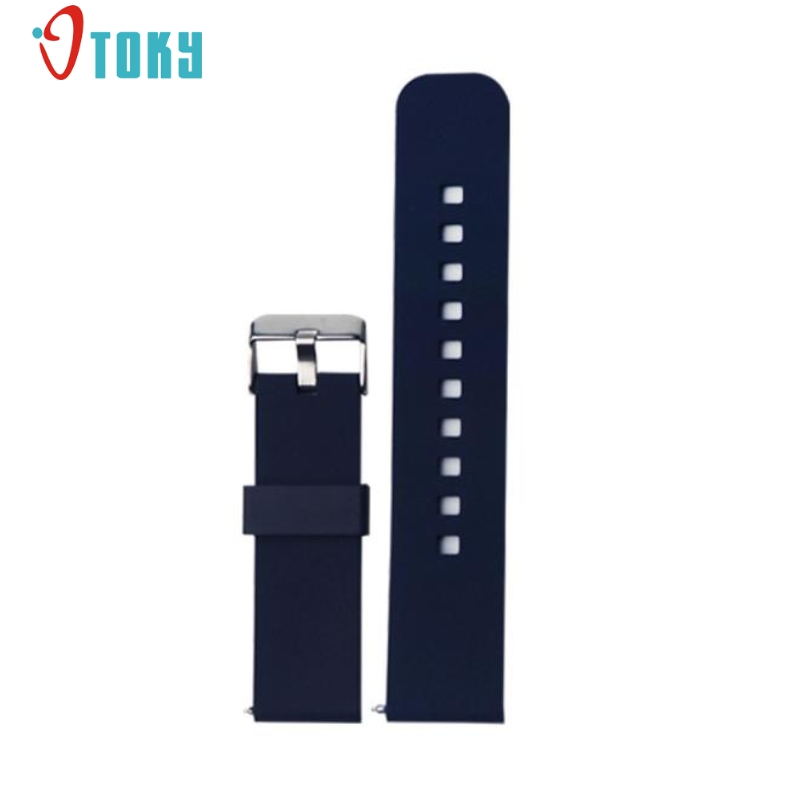 Excellent Quality Watch Wand 22mm Sports Silicone Watch Band Strap Fitness for ASUS ZenWatch 2 Smart Watch Fashion Design