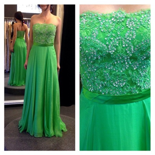 Elegant Fashion   Prom     Dress   A-line Strapless Beaded With Sash Custom Made Free Shipping Formal   Prom   Party   Dress   Vestidos