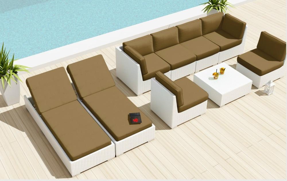 Online Kaufen Großhandel rattan patio sofa aus China rattan patio ...