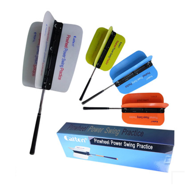 Golf  training aids Practice Goods GOLF wind magic fan swing trainer golf swing correcto Swing trainer fan magic fan golf training aids new blue weight clamp 3pcs sets power swing ring for golf clubs swing mat warm up