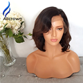 ALICROWN Short Ombre Lace Wig Full Lace Human Hair Bob Wig Brazilian Ombre Lace Front Wig Human Hair Short Wigs For Black Women