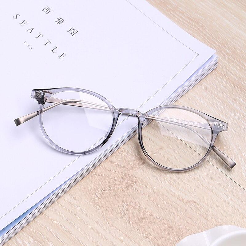 706ec6e319 Nahan transparente Gafas monturas para mujeres plástico titanio acero Gafas  sin grado tr90 gafas Gafas marcos en De los hombres gafas de Marcos de ...
