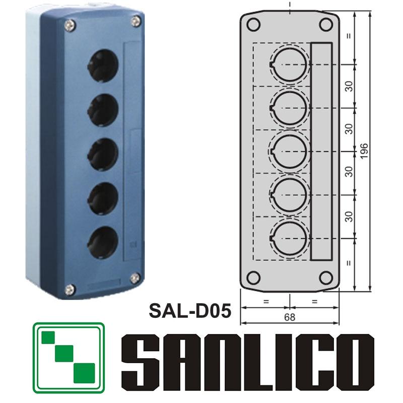 все цены на waterproof  control box push button switch station IP65  SAL(LA68H-D XAL)-D05 онлайн