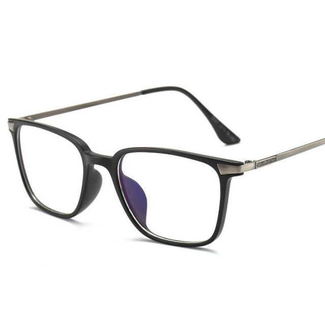 fc021416ef9 Anti Blue Ray Glasses Computer Glasses Clear Lens Optical Protection Reading  Eyewear Brand Glasses Frame TR90 Titanium Women Men