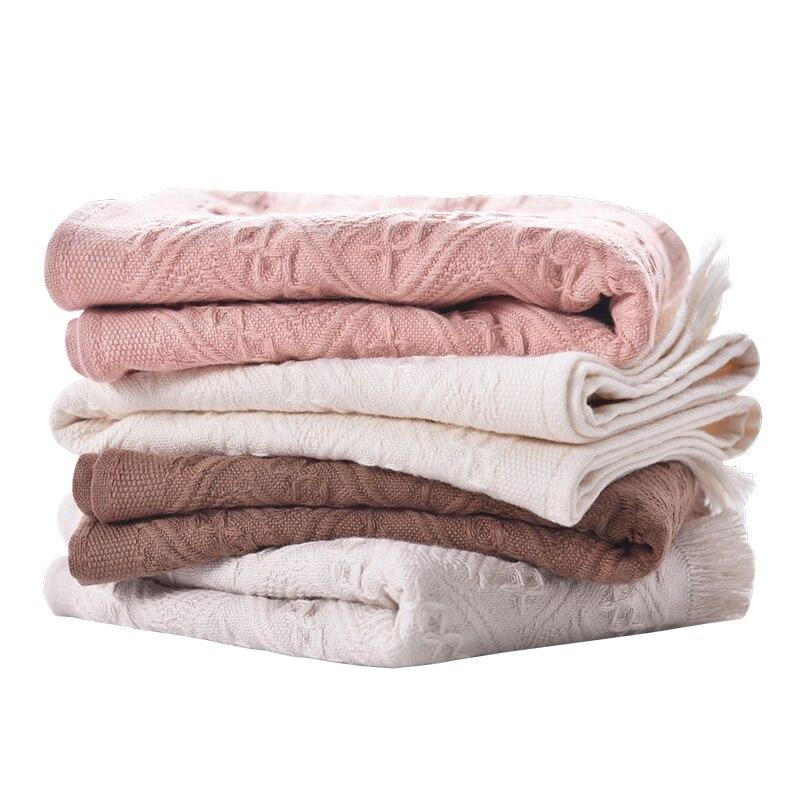 Beroyal New 2019 Hand Towel - 1pc 100% Cotton Towel For Adult Plaid Towels Face Care Magic Towel Toalha 32x72cm