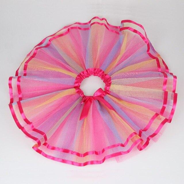 New Fashion Girls Tutu Skirts Baby Bow Skirt Retail Childrens Fluffy Pettiskirts Kids Layered Casual Tutus For Girls