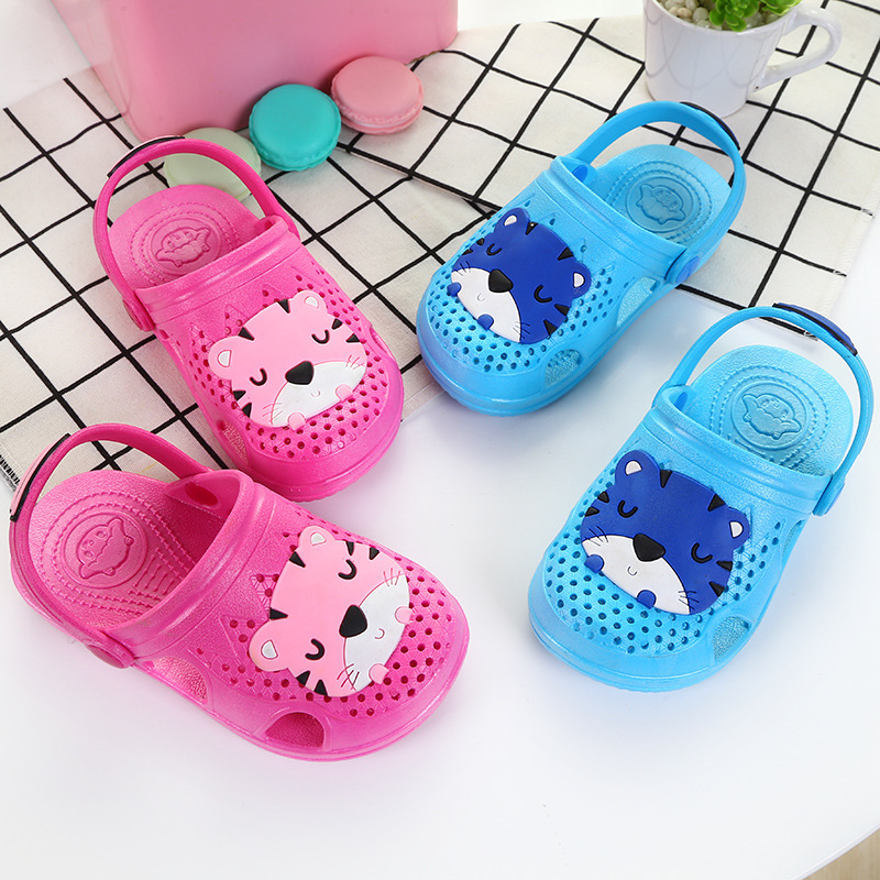 KINE PANDA Indoor Toddler Baby Slippers Bathroom Baby Little Kids Shoes for Girls Boys Sandals flip flop zapatillas pantufas