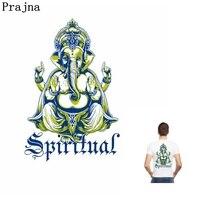 Prajna Pre-bán Sỉ Tinh Thần Tôn Giáo Elephant Phật Đức Tin Vá Kích Thước Lớn Sắt Truyền Nhiệt Trên Huy Hiệu Cho Jean t-shirt