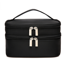 Fashion Women Cosmetic Bag Waterproof Cosmetic Cases Portable Makeup Bag Travel Toiletry Storage Bag bolsa neceser maquillaje women makeup bag top quality new arrivals square bow stripe cosmetic bag cases bolsa de cosmeticos 17may17