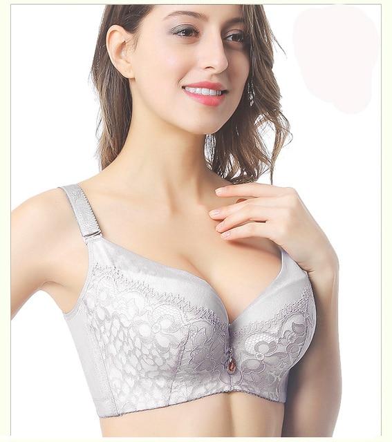 bc73cb26e9 Women s bra Plus size 44F 44E 44D 42F 42E 42D 40F 40E 40D 38F 38E 38D 36F  36E 36D bras push up lingerie dress vs bra bh C3319