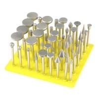 50Pcs Diamond Coated Grinding Grinder Head Glass Burr For DREMEL Rotary Tools On Sale