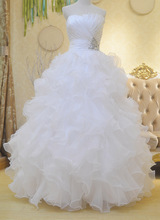 Hot sale Quinceanera Dresses 2015 Organza Ball Gown Sweetheart Crystal sweet 16 dress sweet 15 gowns vestidos de
