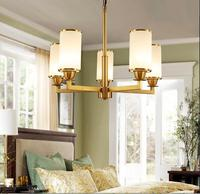 Chinese chandelier living room modern American creative personalized 3/5/6 heads chandelier lighing lamps ZA81716