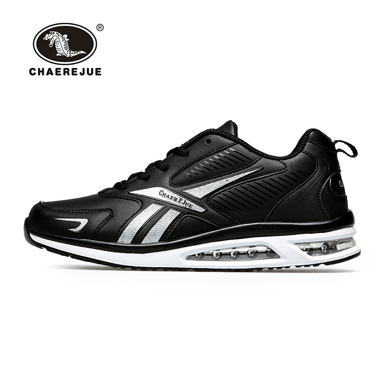 ФОТО New 2016 HK Crocodile men Air Sole Running shoes Bounce Professional athletic shoes Comfortable, breathable men Sports shoes