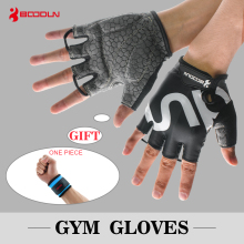 Фотография Sports Gloves Fitness Exercise Training Gym Gloves Half Finger Weightlifting Gloves Multifunction for Men Women