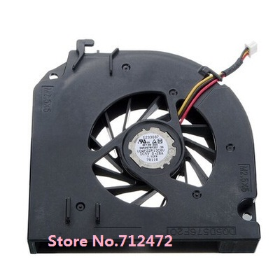 Computer & Office Free Shipping For Dell D531 D820 D830 M65 Np865 Laptop Fan Dfb551305mc0t Fans & Cooling