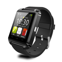 FLOVEME D1 Smart Bluetooth Watch Anti-lost Clock Calls SMS Sync Notifier iOS Android Remote Camera Heart Rate Music Passometer