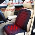 Carro Universal Aquecida Capa de Almofada Do Assento Auto Almofada De Aquecimento Mais Quente inverno Assento de Carro Capa de Almofada de Alta Qualidade & Design de moda 12 V