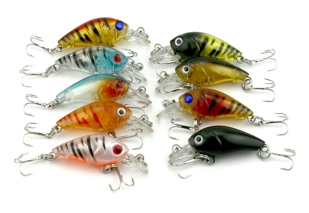 CB005-9 Rock chubby 4.5cm 4g Lure bait lures hard bait fishing tackle Hengjia explosion models