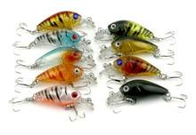 CB005-9 Rock chubby 4.5cm 4g Lure bait lures hard bait fishing tackle Hengjia explosion models