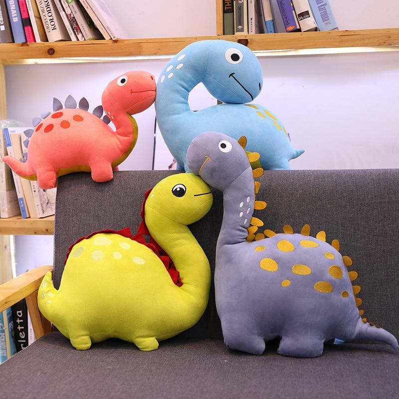 1PC 30cm Creative Cartoon Dinosaur Plush Toys Stuffed Animals Plush Dinosaur Pillow Tyrannosaurus Dolls Kids Boy Girls Gifts