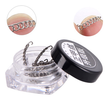 10pcs/box Nail Art Ingrown Toenails Toe Correction Wire Recover Care Paronychia File Patch Corrector Foot Pedicure Tool - discount item  30% OFF Skin Care Tool