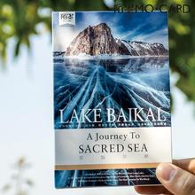 30 pcs/pack Lake Baikal A journey To Sacred Sea Card Greeting Card Postcard Birthday Letter Envelope Gift Card Set Message Card