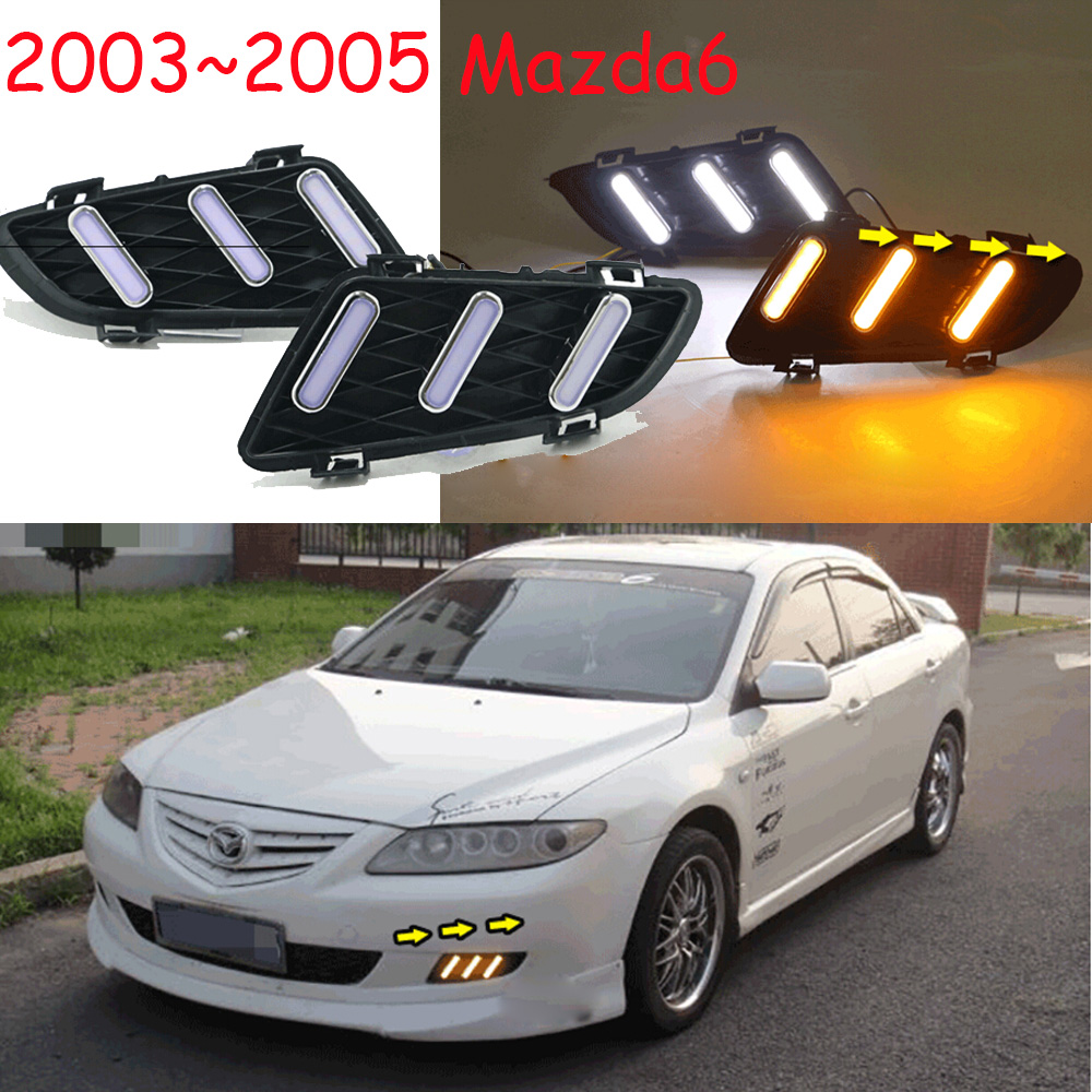 LED,2003~2005 Mazd6 daytime Light,Atenza fog light,mazd6 headlight;Tribute,RX-7,RX-8,Protege,MX-3,Miata,CX4,mazd6 fog lamp mazd6 atenza taillight sedan car 2014 2016 free ship led 4pcs set atenza rear light atenza fog light mazd 6 atenza axela cx 5
