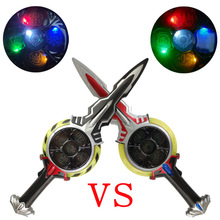 ultraman orb sword black sword children gently drag toy weapons Halloween props ball sword can rotate 360 degrees sword sword greetings from
