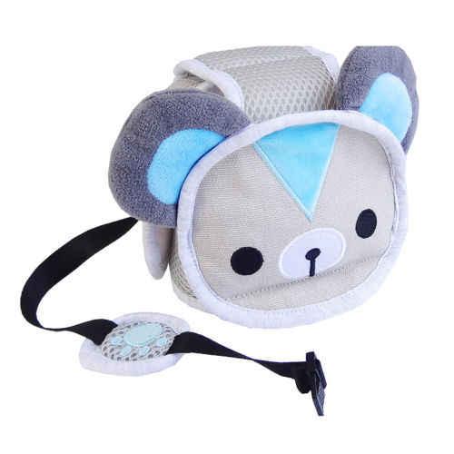 2018 nuevo Animal sombrero bebé niño Seguridad Protección de la cabeza casco niños niño proteger sombrero para caminar arrastrándose