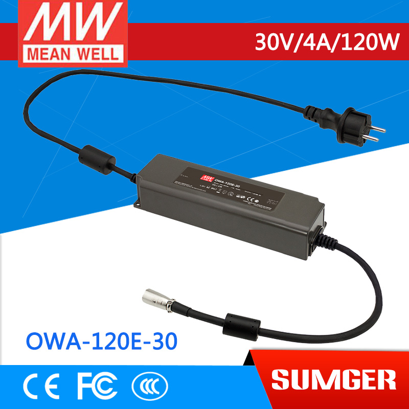 1MEAN WELL original OWA-120E-30 30V 4A meanwell OWA-120E 30V 120W Single Output Moistureproof Adaptor сплит система roda rs a 30 e ru a 30 e sky