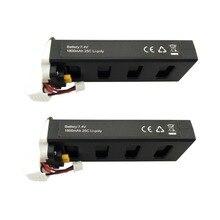 Pcs bateria de lítio 7.4 v 1800 mah para MJX 2 B2C B2W B2 2 2 w Bugs Bugs RC D80 f18 bateria zangão quadcopter peças de reposição branco