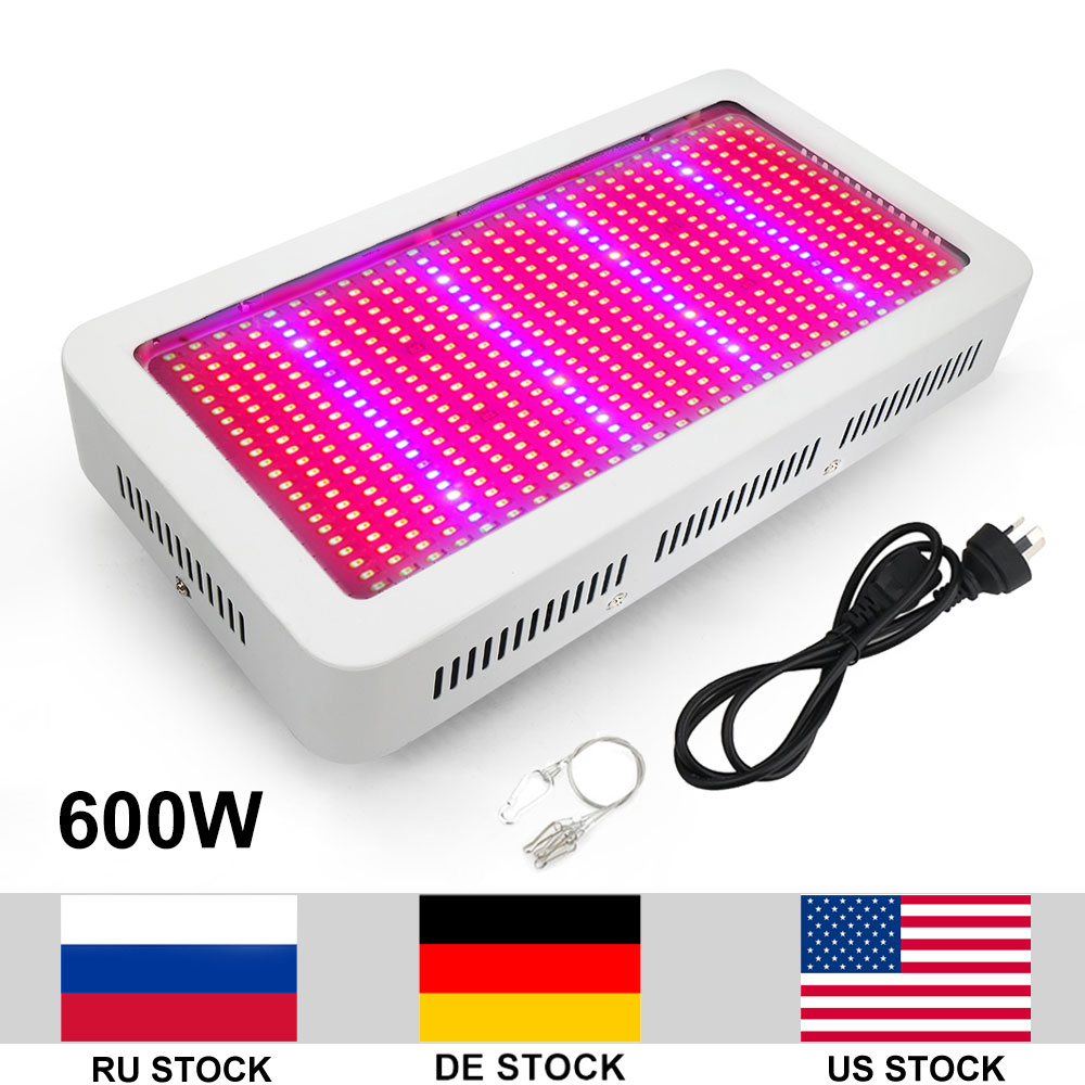 600W Growing Lamp AC85 265V SMD5730 LED Grow Light Full Spectrum For Indoor Plants Growing Flowering Whole Period lexing lx r7s 2 5w 410lm 7000k 12 5730 smd white light project lamp beige silver ac 85 265v