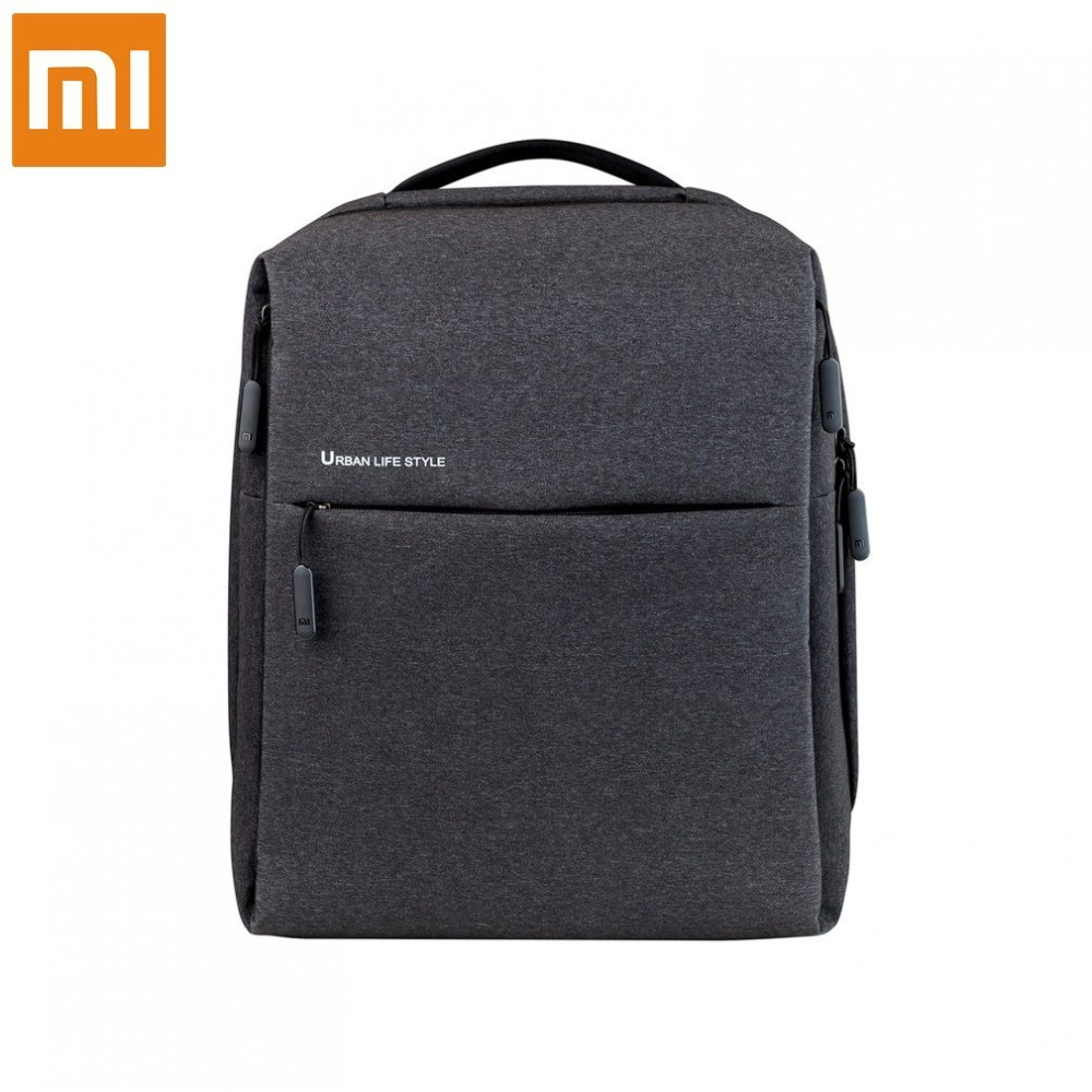 Xiaomi Mi Unisex Waterproof Minimalist Durable Leisure Travel Backpack Urban Life Style City Bag Laptop Backpack Inside xiaomi 90fun urban city simple backpack 14inch laptop waterproof mi rucksack daypack school bag learning portable backpacks