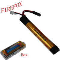 Wholesale 1pcs 100 Orginal FireFox 7 4V 1500MAH 15C AKKU Mini Airsoft Gun Battery RC Model