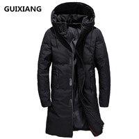 2018 new arrival winter Down Coats Men's high quality black casual Parkas men,winter jacket men down down jackets size M 3XL