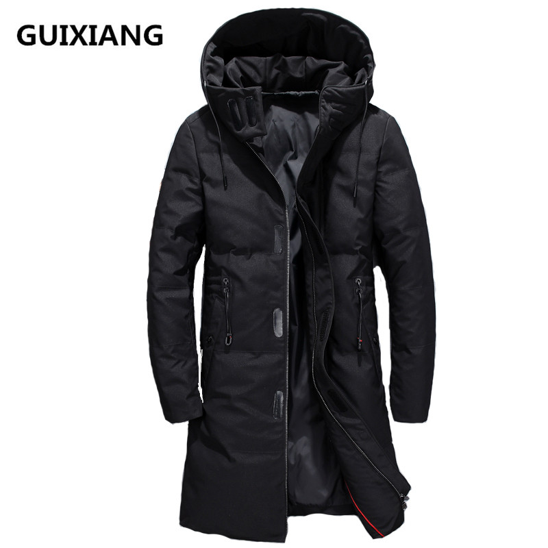 2018 new arrival winter   Down     Coats   Men's high quality black casual Parkas men,winter jacket men   down     down   jackets size M-3XL