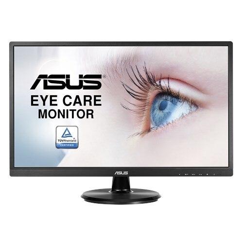 ASUS VA249NA Soins Oculaires Moniteur-23.8 pouce, Full HD, Sans Scintillement, Filtre de Lumière Bleue, anti-Éblouissement