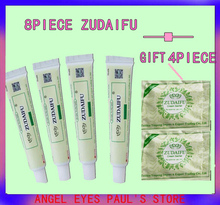 8pcs+4 small package trial use of Zu Doctor's Natural Eczema Ointment Eczema Ointment Psoriasis Eczema Allergic Neurodermatitis