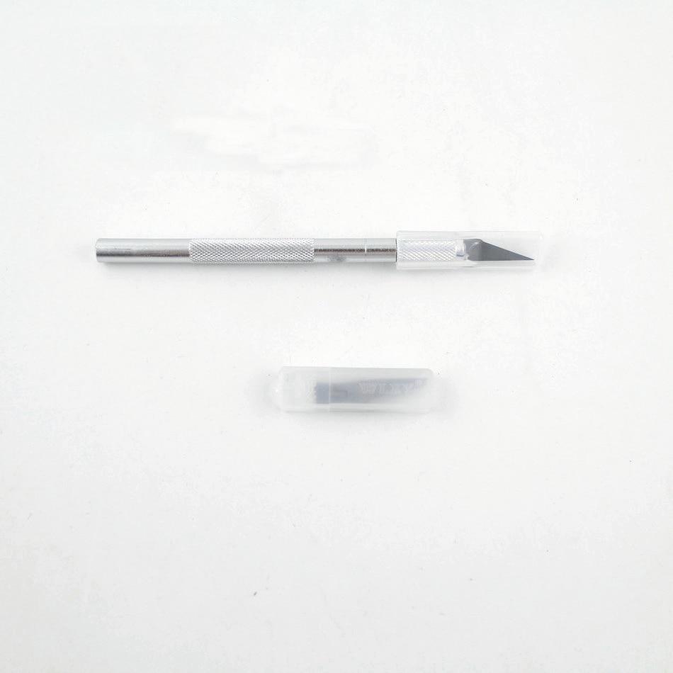 5 penge fafaragó szerszámok, penge kés fapapírvágó tollkések - Kézi szerszámok - Fénykép 3