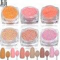 1.5g Pink Rose Dazzling Nail Sugar Glitter Powder Nail Art Dust Tips Nail Art Decorations Powder Pearl Powder  #513-518