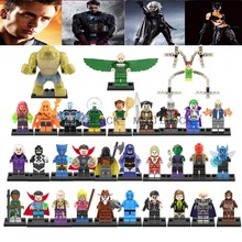 For Legoing Dc Super Heroes Deadpool X-Men Suicide Squads Harley Quinn Batman Joker Deadshot Figures Legoinglys Building Blocks(China)