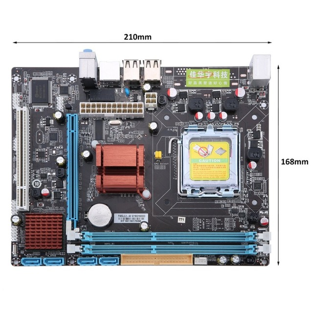 P45 Motherboard Computer Fast Ethernet Mainboard 771/775 Dual Board DDR3 8GB Support L5420 High Compatibility Drop Shipping 5