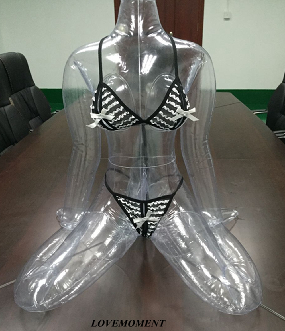 2016 Hot Adult font b Sex b font Products Transparent Leather Legs Male Masturbation devices Inflatable