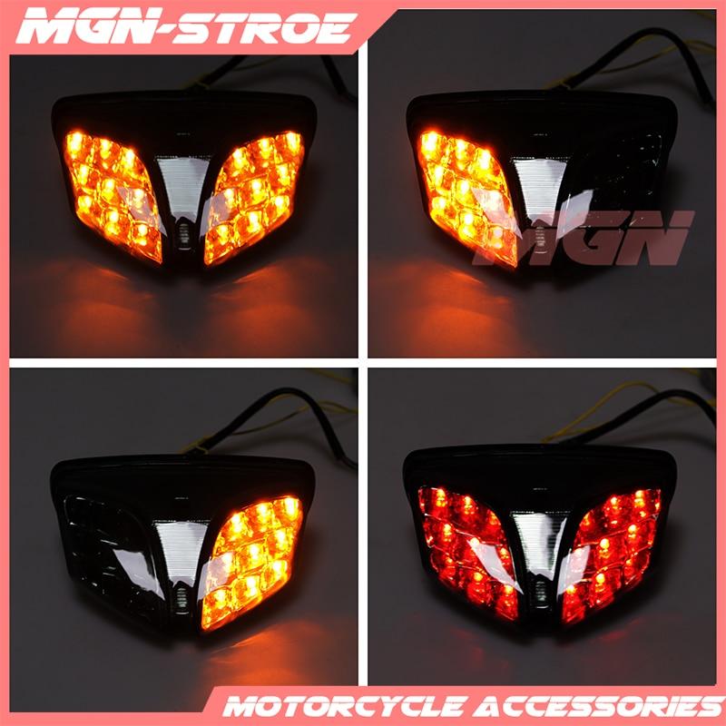 Задний поворотный сигнал, задний стоп светильник, встроенная лампа для GSXR600 GSXR 750 K8 K11 2008-2015 GSXR1000 K9 09-15