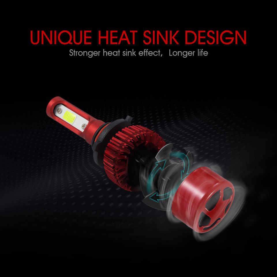 Oslamp H7 LED Headlight Bulbs 6500K/4300K H11 H1 H3 9012 9005 9006 COB Auto Headlamp 60W 7000lm All-in-One LED Car Light Bulbs