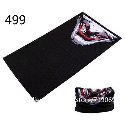 471-540 Fashion Bufanda Tubular Hijab Camo Bandana Scarf Seamless Neck Tube Bandana Standard Size 48*25cm Men Bandana
